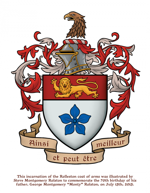 Rolston coat of arms