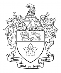 Rolston coat of arms inks