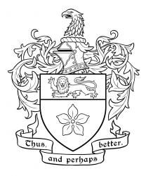 Rolston coat of arms inks