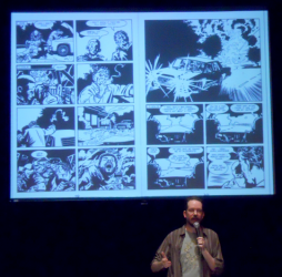 Steve Rolston at the Vancouver Comic Arts Festival 2013