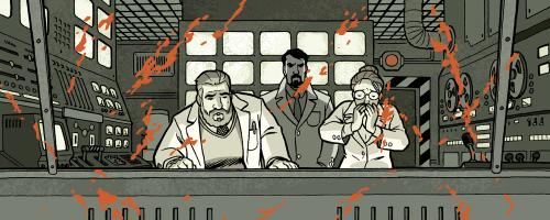 Ghost Projekt - Control Room Splatter