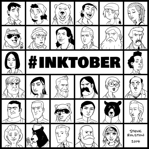 INKtober 2014 Wrap-Up