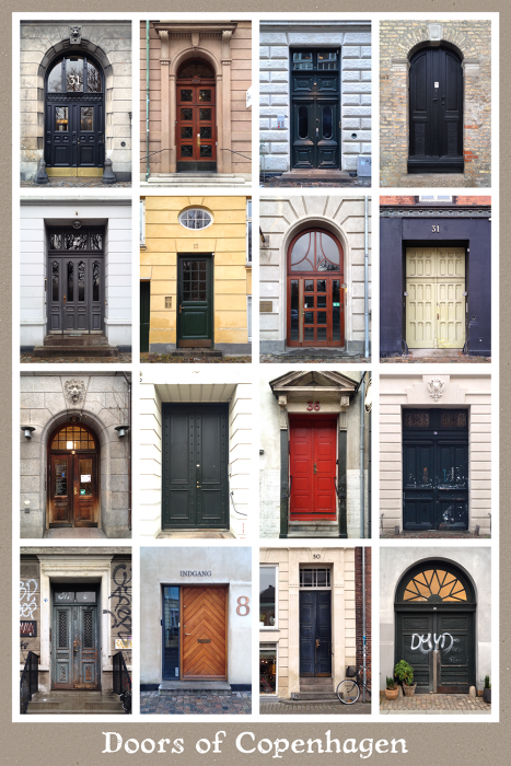 Doors of Copenhagen