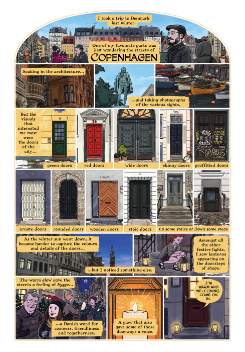 Doors of Copenhagen comic