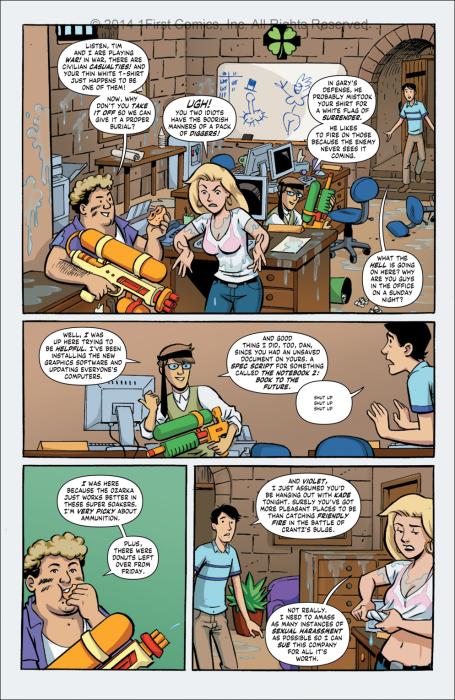 Public Relations #6 pg 18