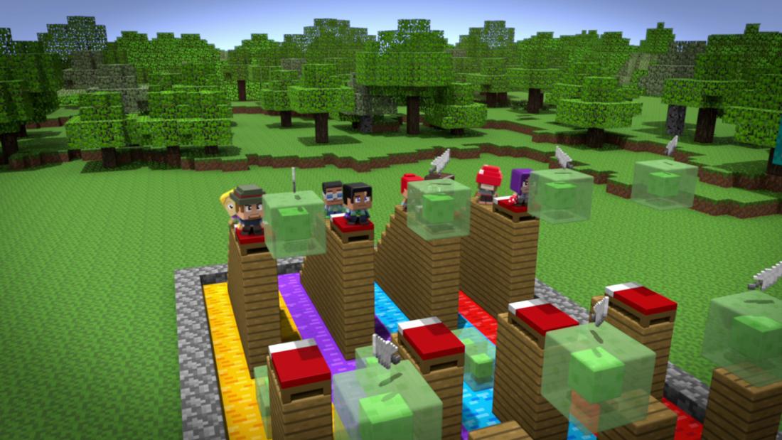 3 easy hacks in Minecraft - YouTube
